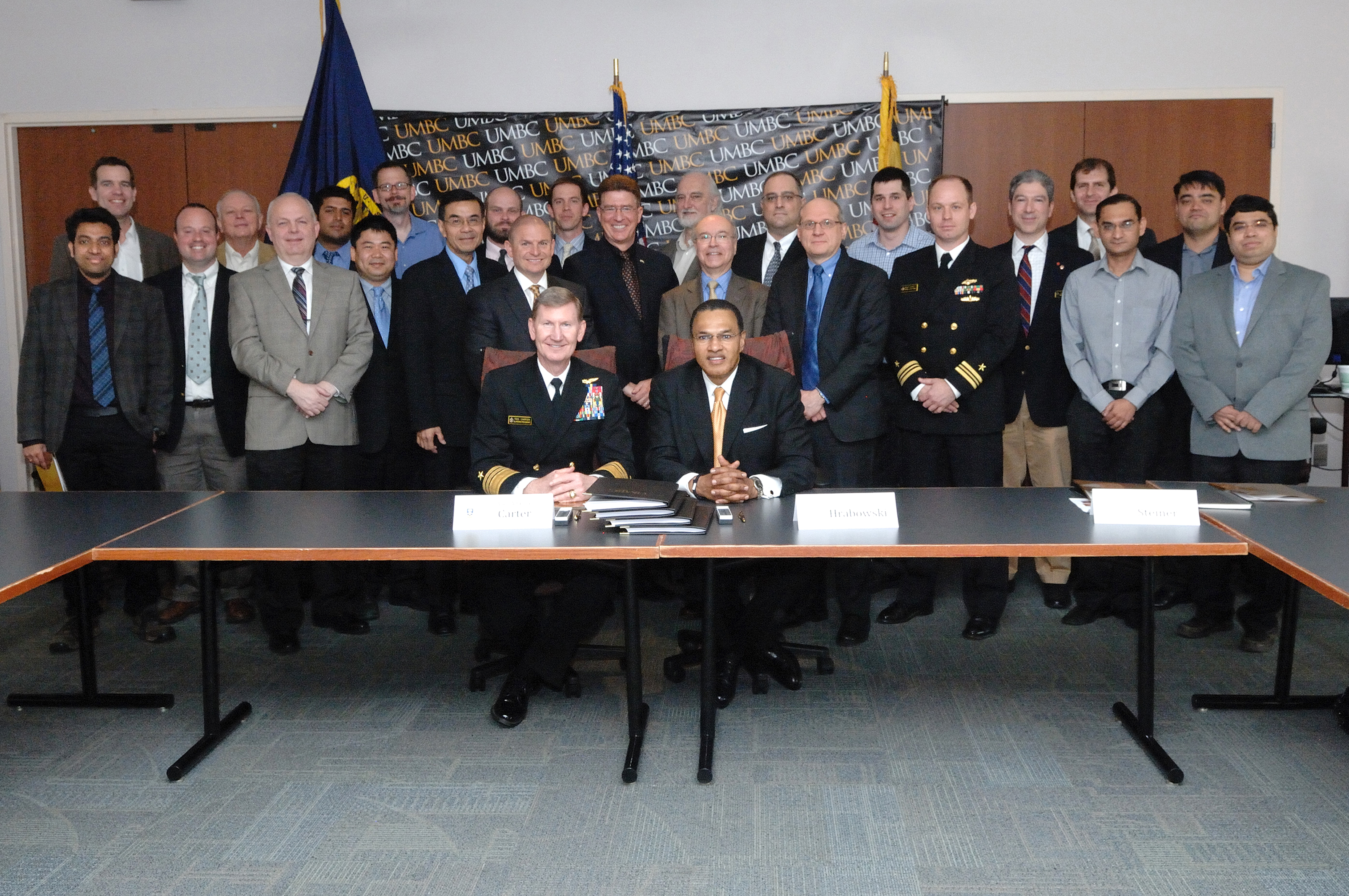 IS Professors Invited to Navy CRADA Signing Ceremony