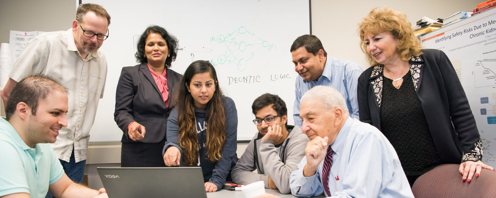 Prof. Joshi helps launch Center of Accelerated Real Time Analytics