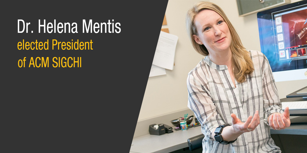 Congrats to Prof. Mentis on her election.