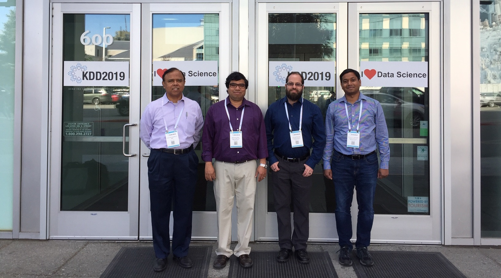 Faculty Attend KDD 2019 Data Science Conference