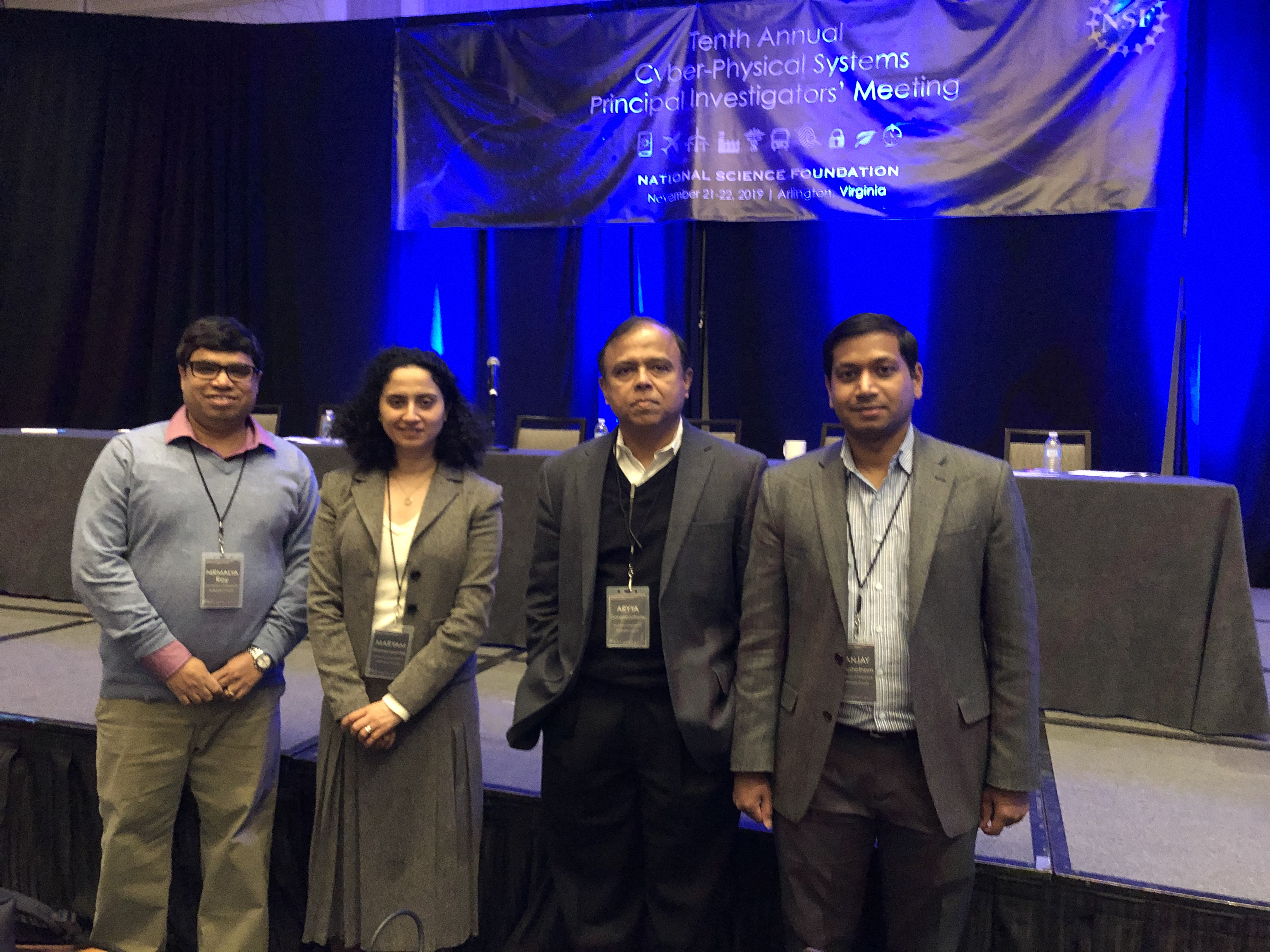 IS Team Attends NSF Cyber-Physical Systems Principal Investigators' Meeting